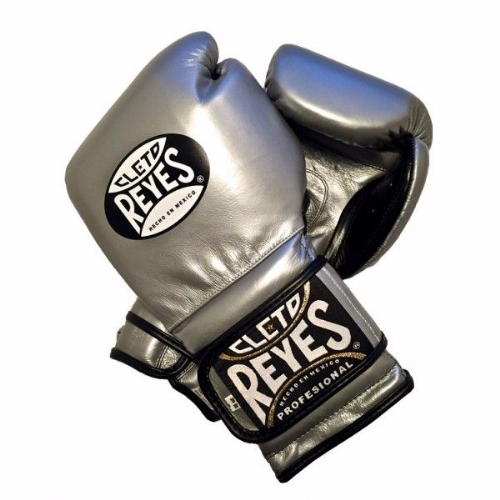 Cleto Reyes Wrap Around Sparring Gloves - Platinum